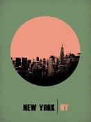NAXART Studio - New York Circle Poster 1