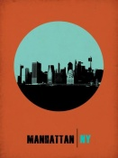 NAXART Studio - Manhattan Circle Poster 1