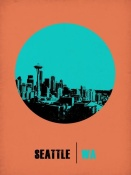 NAXART Studio - Seattle Circle Poster 1
