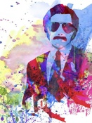 NAXART Studio - Anchorman Watercolor