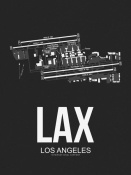 NAXART Studio - LAX Los Angeles Airport Black