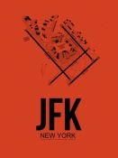 NAXART Studio - JFK New York Airport Orange