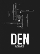 NAXART Studio - DEN Denver Airport Black