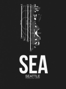 NAXART Studio - SEA Seattle Airport Black