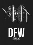 NAXART Studio - DFW Dallas Airport Black