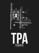 NAXART Studio - TPA Tampa Airport Black