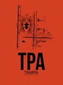NAXART Studio - TPA Tampa Airport Orange
