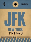NAXART Studio - JFK New York Luggage Tag 2