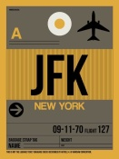 NAXART Studio - JFK New York Luggage Tag 3