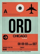 NAXART Studio - ORD Chicago Luggage Tag 2