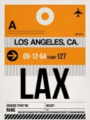 NAXART Studio - LAX Los Angeles Luggage Tag 2