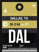 NAXART Studio - DAL Dallas Luggage Tag 2