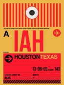 NAXART Studio - IAH Houston Luggage Tag 1