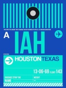 NAXART Studio - IAH Houston Luggage Tag 2