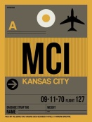 NAXART Studio - MCI Kansas City Luggage Tag 1