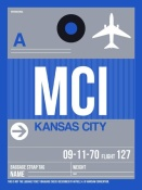 NAXART Studio - MCI Kansas City Luggage Tag 2
