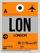 NAXART Studio - LON London Luggage Tag 1