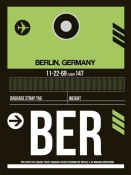 NAXART Studio - BER Berlin Luggage Tag 2