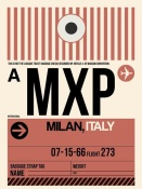 NAXART Studio - MXP Milan Luggage Tag 1