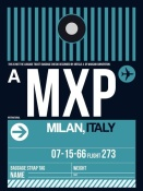 NAXART Studio - MXP Milan Luggage Tag 2