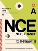 NAXART Studio - NCE Nice Luggage Tag 2