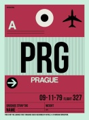 NAXART Studio - PRG Prague Luggage Tag 2