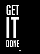 NAXART Studio - Get It Done Poster Black
