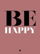NAXART Studio - Be Happy Poster 2