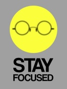 NAXART Studio - Stay Focused Circle Poster 2