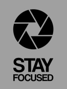 NAXART Studio - Stay Focused Circle Poster 3
