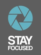 NAXART Studio - Stay Focused Circle Poster 4