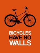 NAXART Studio - Bicycles Have No Walls Poster 1