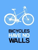 NAXART Studio - Bicycles Have No Walls Poster 2