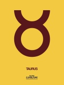 NAXART Studio - Taurus Zodiac Sign Brown