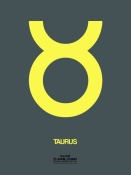 NAXART Studio - Taurus Zodiac Sign Yellow