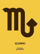 NAXART Studio - Scorpio Zodiac Sign Brown