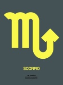 NAXART Studio - Scorpio Zodiac Sign Yellow