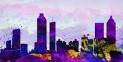 NAXART Studio - Atlanta City Skyline