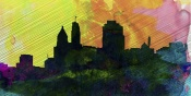 NAXART Studio - Cincinnati City Skyline