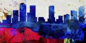 NAXART Studio - Denver City Skyline