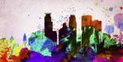 NAXART Studio - Minneapolis City Skyline