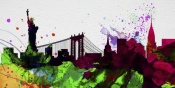 NAXART Studio - New York City Skyline 2