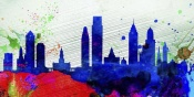 NAXART Studio - Philadelphia City Skyline