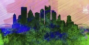 NAXART Studio - Pittsburgh City Skyline