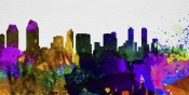 NAXART Studio - San Diego City Skyline