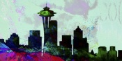 NAXART Studio - Seattle City Skyline