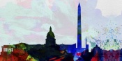 NAXART Studio - Washington DC City Skyline 2