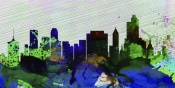 NAXART Studio - Tulsa City Skyline