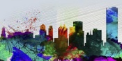 NAXART Studio - Buffalo City Skyline