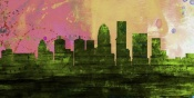 NAXART Studio - Louisville City Skyline